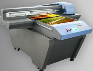 Digital Dx5 UV LED Flatbed Painted Glass Printer pictures & photos