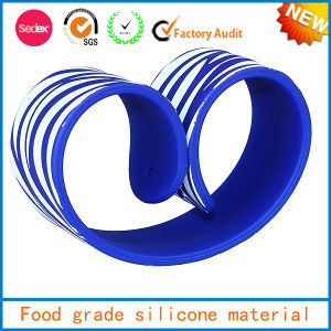 Rubber Soft Chain Silicone Bracelet Dongguan Slap Silicone Bracelet