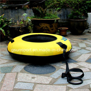 Adult and Children Winter Sport Toy Inflatable Snow Ski Sled Snow Tube pictures & photos