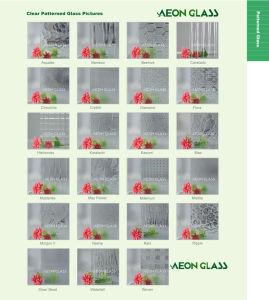 3mm, 3.5mm, 4mm, 5mm, 6mm and 8mm Diamond, Flora, Karatachi, Millennium, Mistlite, Nashiji Pattern Glass pictures & photos