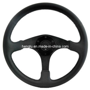 Black Sports Car Steering Wheels/ Racing Steering Wheels pictures & photos