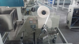 Automatic Two Belt Strapping and Packing Machine for Noodle and Spaghetti pictures & photos