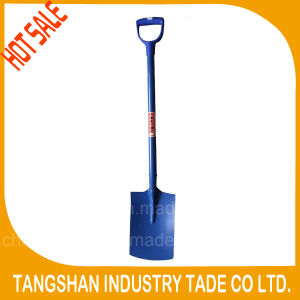 Digging Types PVC Grip Whole Steel Shovel pictures & photos
