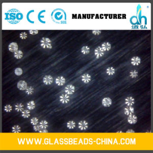 Glass Sand Blasting, Sandblasting Glass Beads pictures & photos