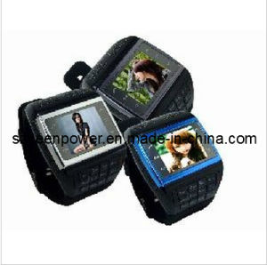 New Quad-Band Wrist Cellphone Watch pictures & photos