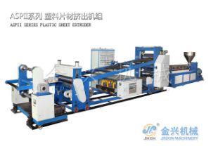 Aspii Plastic Sheet Extrusion Machine pictures & photos