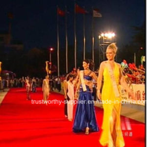 Polyester Banquet Hall Red Carpet pictures & photos