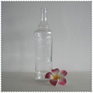 Empty Glass Bottle 1000ml with Logo Embossed pictures & photos