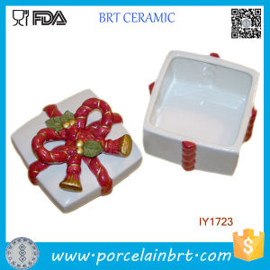 Hot Sale Ceramic Box Storage Box Merry Christmas Gift pictures & photos