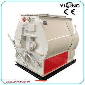 Sshj Series Dual-Shaft Oar Feed Mixer pictures & photos