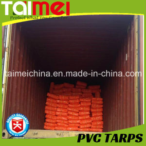 400GSM Orange PVC Tarpaulin for Trcuk Cover pictures & photos