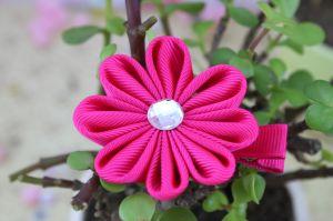 8 Petals Flower Design Ribbon Bows