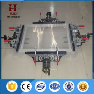 Fast Clip Manual Silk Screen Stretching Machine with Hjd-O3 pictures & photos