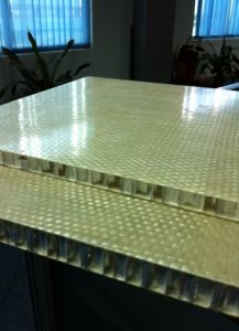 Honeycomb Sandwich Panels Fiberglass Honeycomb Panel pictures & photos