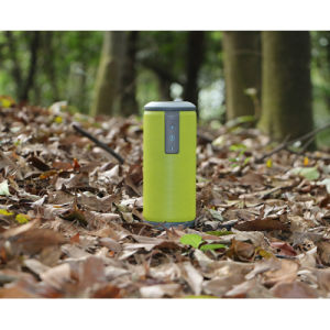 Customised Cylinder Waterproof Bluetooth Wireless Mini Portable Speaker pictures & photos