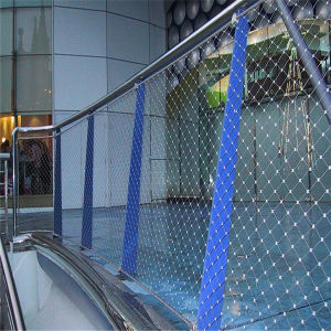 316 Stainless Steel Wire Rope Woven Mesh pictures & photos