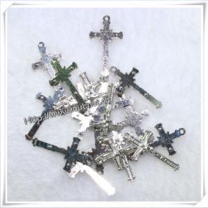 Multi Colors Catholic Metal Jesus Standing Crucifix (IO-ap227) pictures & photos