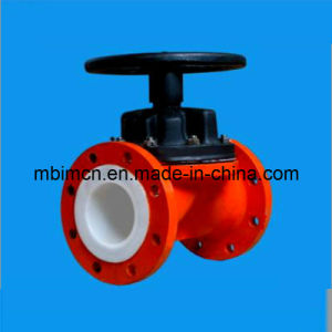 Chemical Process Diaphragm Valve with Linning pictures & photos