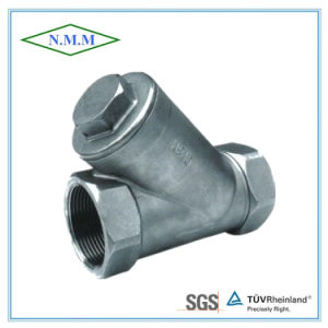 Stainless Steel Threaded End Y Filter in 800wog pictures & photos