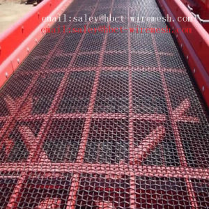 Best Price 45# Steel Crimped Wire Mesh pictures & photos