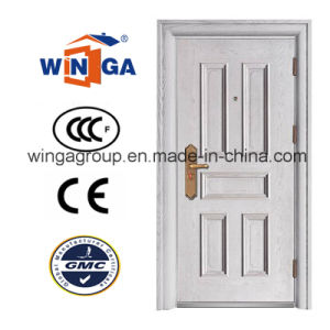 Building Project Water Proof and Sunproof Security Steel Door (W-S-11A) pictures & photos