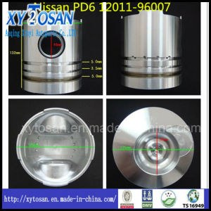 Engine Piston for Nissan PD6 12011-96007 pictures & photos