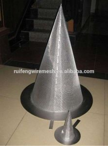 Wire Mesh Cone Strainers pictures & photos