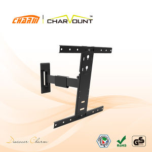 Extended TV Wall Mount (CT-WPLB-M201) Maya Series/120 Degrees Swivel TV Wall Mount (CT-WPLB-M201) pictures & photos