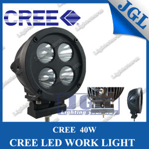 CREE 40W LED Work Lamp with Specail Barcket, off Road 4*10W Work Light for Heavy Duty, 4WD LED Car Light, CREE LED Offroad Lights