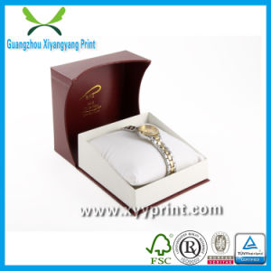 Custom Luxury Cardboard Watch Packaging Box with Velvet pictures & photos