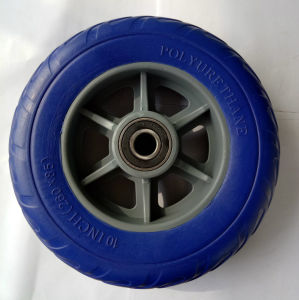 Light Weight Heavy Load PU Foam Wheel pictures & photos