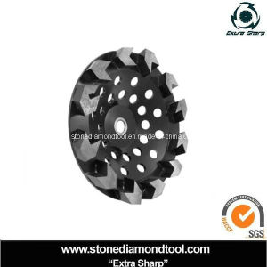 Cup Wheel Rubber Abrasive Diamond Stone Grinding Disc pictures & photos