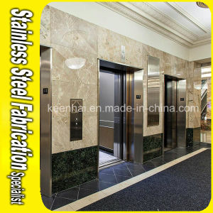 Decorative Mirror Stainless Steel Elevator Door for Apartments pictures & photos