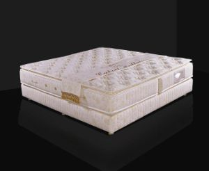 Pillow Top Compressed Pocket Spring Mattress (K22) pictures & photos