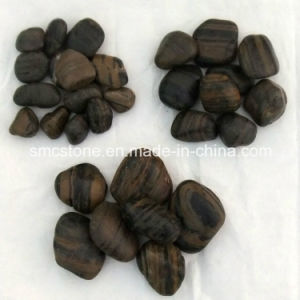 3-5cm Blackpolished a Natural Cobble &Pebble Stone (SMC-PB021) pictures & photos