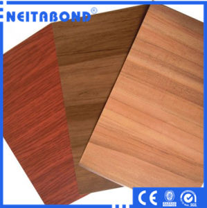 Natural Marble Wood Aluminum Composite Wall Panel ACP pictures & photos