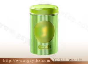 Fashion Round Sugar Tin Box