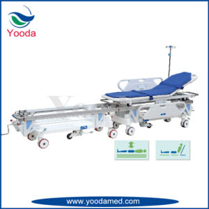 Medical Patient Transfer Trolley Used in Operating Room pictures & photos