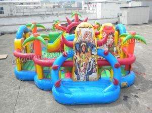 Jungle Theme Bouncing Inflatable Combo for Kids B3082 pictures & photos