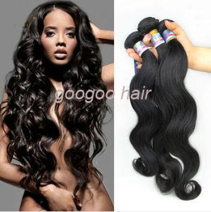 Cheap Virgin Brazilian Natural Hair Body Wave 100% Human Hair pictures & photos