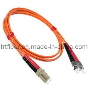 FC-LC Mm Dx Fiber Optic Patch Cord pictures & photos
