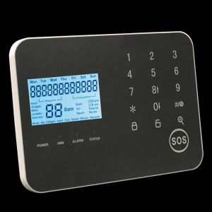 LCD Touch Screen GSM/PSTN Wireless Alarm Panel with pictures & photos