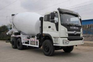 6cbm 260HP Foton 6X4 Cement Concrete Mixer Truck pictures & photos