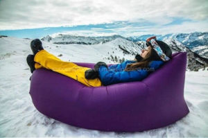 Fast Inflatable Camping Sleeping Bag Beach Sofa Lounger Bed pictures & photos