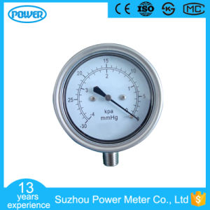 2.5′′ 63mm 4 Kpa Stainless Steel Vacuum Capsule Pressure Gauge pictures & photos