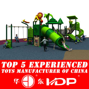 2014 New Style Outdoor Plastic Slide for Children′s Playground (HD14-069B) pictures & photos