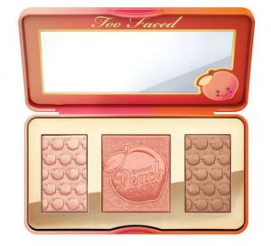 Too Faced Sweet Peach Glow 3 Color Blush Palette Cosmetic Blusher for Lady pictures & photos