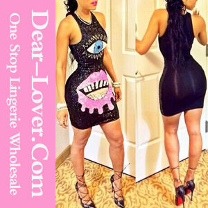 Fascinate You Single-Eyed Mini Dress pictures & photos