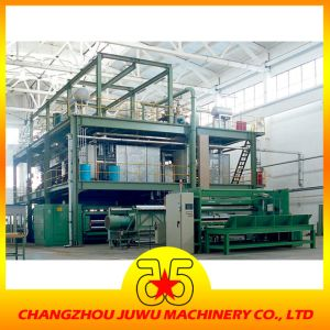 SSS 1600mm PP Spun Bond Nonwoven Fabric Making Machine pictures & photos