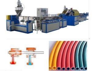 PVC Fiber Reinforced Hose Extrusion/Production Line pictures & photos